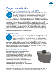 Artikel regenwatertanks