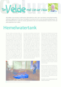 Artikel-regenwatertank