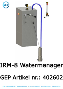 402602 IRM-8 Watermanager rainwater pump