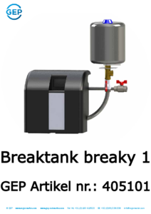 405101 Breaktank Breaky 1 EN1717