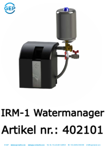 402101 IRM-1 Watermanager regenwaterpomp