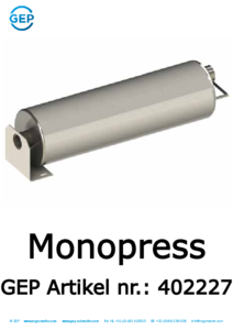 402227 Monopress regenwaterpomp