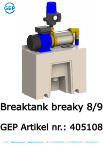405108 Breaktank Breaky 8-9 EN1717