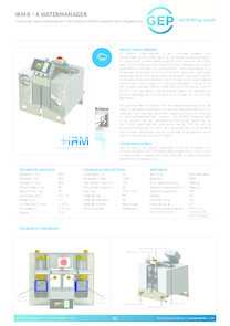 402601 IRM® - 6 Watermanager
